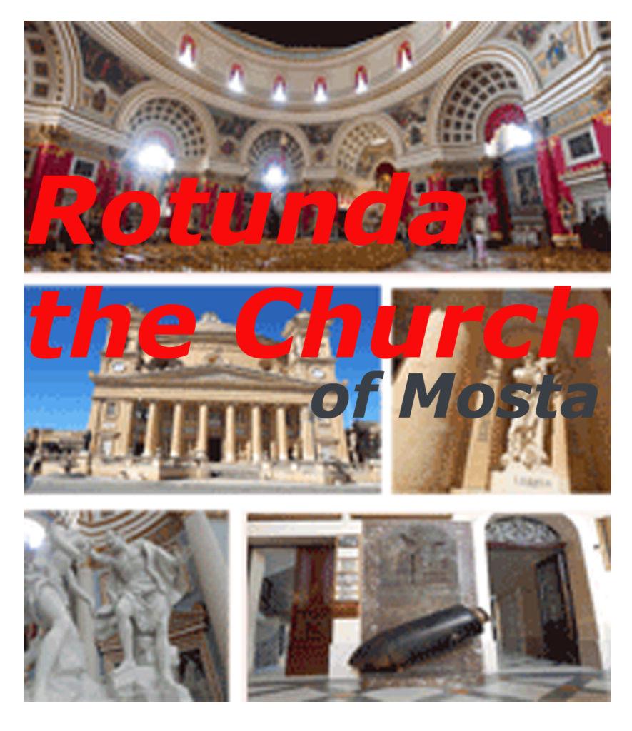 La iglesia de la cúpula redonda de Mosta - Malta