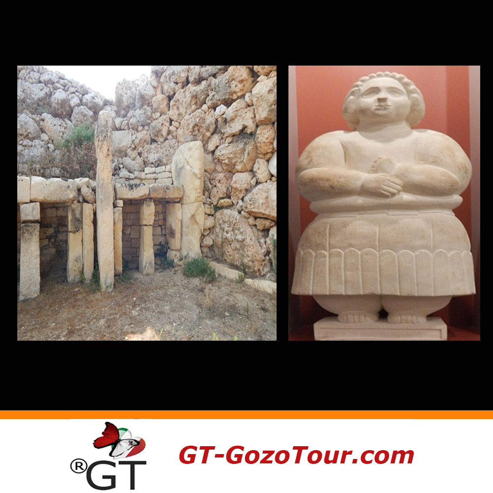 Templos del área arqueológica de Ggantija y museo