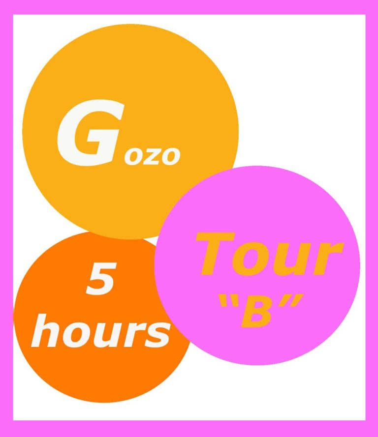 Tour of Gozo 5 hours