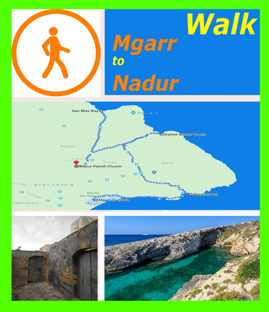 Gozo from Mgarr to Nadur walk