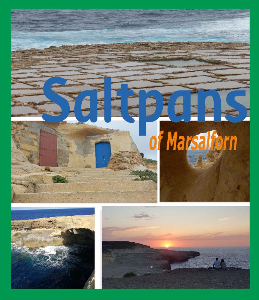 Saltpans Marsalform Gozo Malta