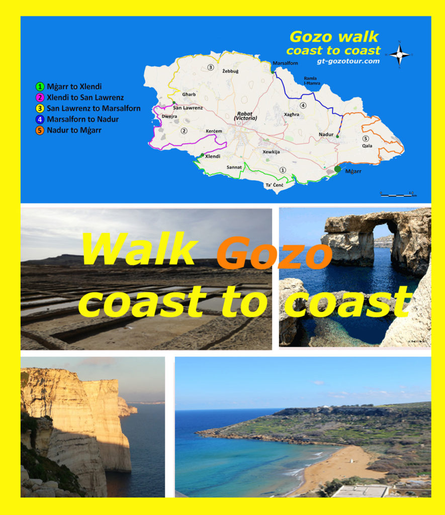 Gozo coast to coast