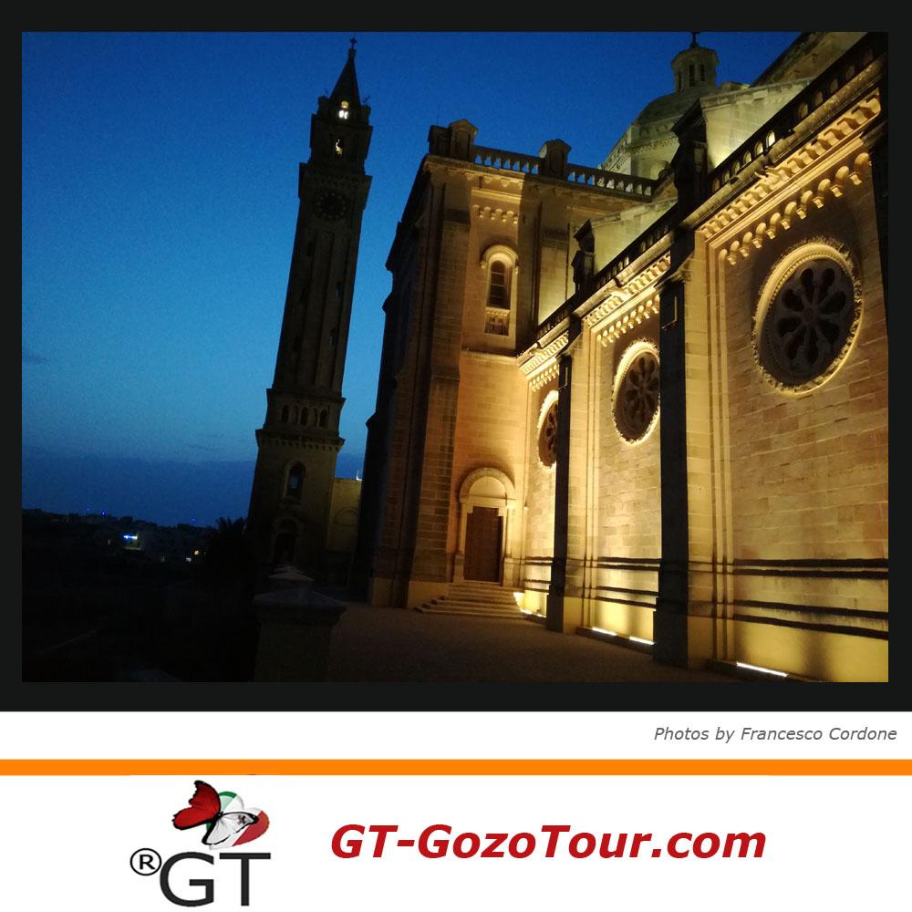Church of Ta 'Pinu island of Gozo