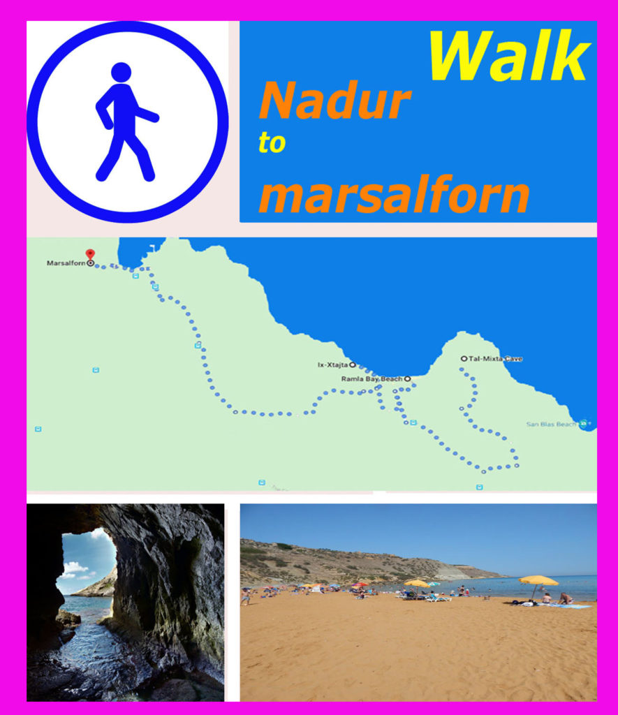 Gozo walk: from Nadur to Marsalforn